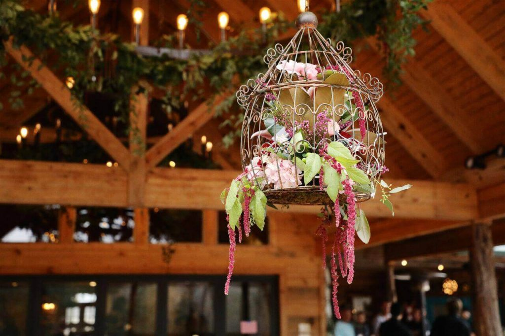 party decor at Wylde Acres in Longview, Texas